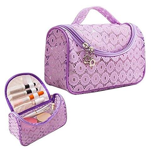 Sztara Petite trousse de toilette de voyage Pourpre violet taille unique