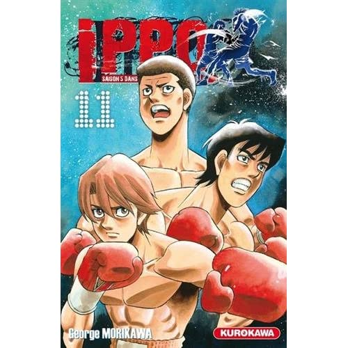 Ippo - saison 5, Dans l'ombre du champion - tome 11 (11)