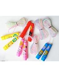 Main® Cute enfants Plastique Souple à sauter/Corde à sauter–Achetez 1obtenez 1Offre gratuite.