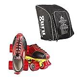 Guru Gold Shoe Roller Skates With 1 Shoe Carrying Bag (3)
