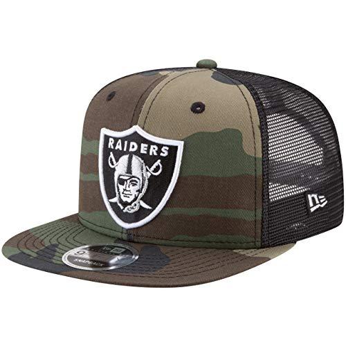 New Era 9Fifty Mesh Snapback Cap Oakland Raiders Wood camo