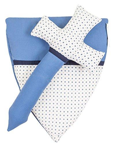 Ringelsuse Stoffschwert Ritterschwert Stoff Ritter Spielzeug Kinder 32 x 16 cm Schwert 28 x 24,5 cm Schild Blau Weiß Obermaterial 100% Baumwolle Fairtrade