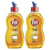 Pril Dishwash Speckles - 425 ml (Tamarind) (Pack of 2)