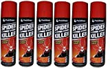 6 x Spider & Creepy Crawly Insect Killer Spider Spray No More Spiders