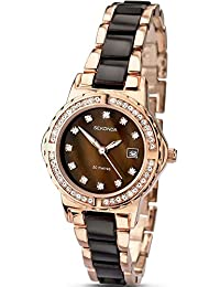 SEKONDA Womens Quartz Watch, Analogue Classic Display and None Strap 4892.27