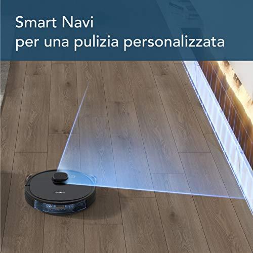 Panni in microfibra per pulizia umida confezione da 5 unit/à e-Bulk ricambio compatibile con i robot aspirapolvere Ecovacs Deebot Ozmo 950//920