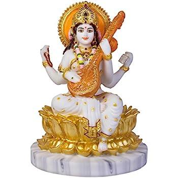 Buy Divine Gifts Marble Laxmi Idol Murti For Pooja Room