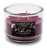CANDLE-LITE 3 Docht Duftkerze im Glas, Juicy Black Cherries 283g, Rot, 10.5 x 10.5 x 8.2 cm