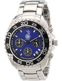 Constantin Durmont Herren-Armbanduhr XL Marlin Chronograph Quarz Edelstahl CD-MARL-QZ-ST-STBL-BL
