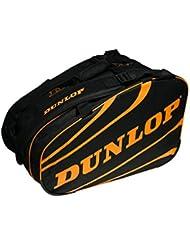 Dunlop Competición Bolsa Deporte Paletero, Unisex Adulto, Naranja, L