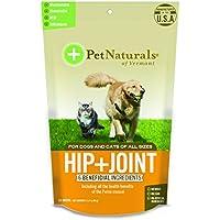 Pet Naturals® Vermont cadera + conjunta, conjunto de apoyo Suplemento para gatos y perros, 60Bite tamaño–Chucherías