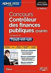 Concours Contrôleur des finances publiques (DGFIP) - Tout-en-un - Catégorie B - Concours 2015-2016