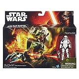 Star Wars 9cm Stormtrooper Sargeant Figur und Assault Walker [UK Import]