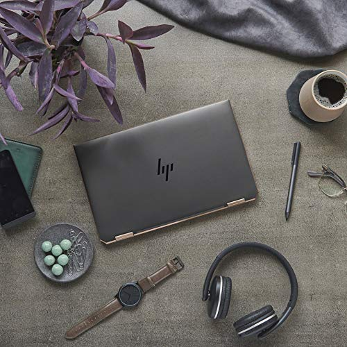 HP Spectre x360 Core i5 10th Gen 13-inch FHD Touchscreen Laptop (8GB/512 GB SSD/Windows 10/MS Office 2019/Dusk Black/1.27 kg), 13-aw0204TU Image 9