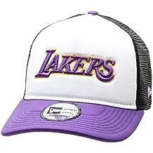 fb1246c0a9c09 A NEW ERA Era LA Lakers - Gorra de Camionero con Bloque de Color