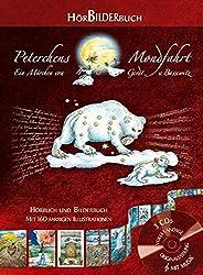 HörBilderbuch Peterchens Mondfahrt, 3 Audio-CDs + Bilderbuch mit 160 farbigen Zeichnungen