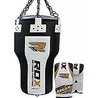 RDX Boxe Pelle Angolo Sacchi Pugilato MMA Pieno Sacco Terra Base Allenamento