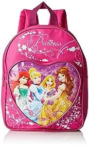 Disney Princess Children's Heart Pocket Backpack, Pink