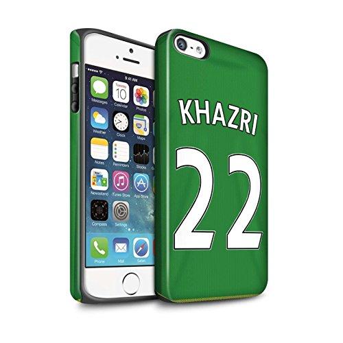 Officiel Sunderland AFC Coque / Matte Robuste Antichoc Etui pour Apple iPhone SE / Pack 24pcs Design / SAFC Maillot Extérieur 15/16 Collection Khazri