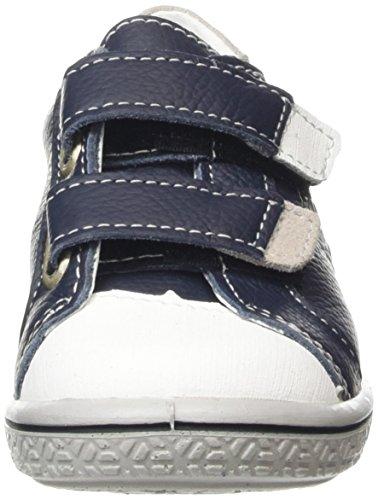 Ricosta  Nippy, Sneakers Basses garçon Bleu - Blue (Ozean/Weiss 180)