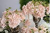 VGJJMNG Künstliche Blume 11pcs/los Bunte Dekorative Blume Für Hochzeit Party Künstliche Hortensie Seide DIY Blumendekoration Für Haus