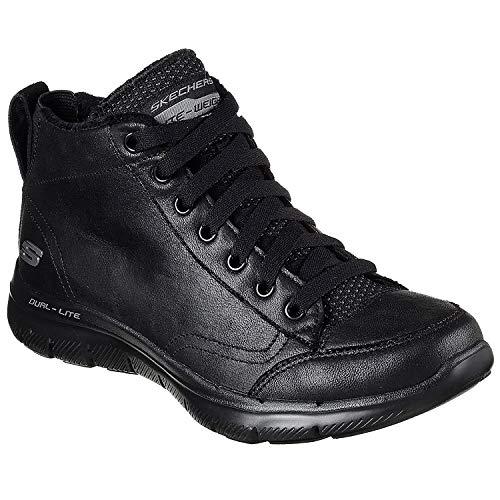 Skechers 12892 Flex Appeal 2.0 - Warm Wishes Womens Boots 4 BBK