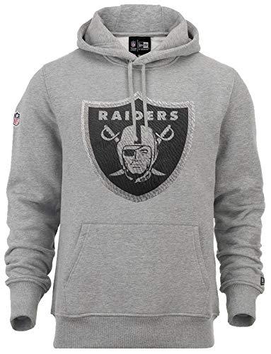 New Era Oakland Raiders New Era Hoody Fan NFL Grau - XL