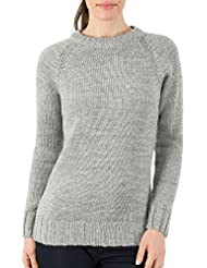 Wool Overs Pull femme en pure laine à col rond