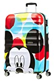 American Tourister - Disney Wavebreaker - Spinner Kindergepäck, 77 cm, 96 L, Mickey Close-Up