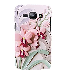 FUSON Orchid Cards Design 3D Hard Polycarbonate Designer Back Case Cover for Samsung Galaxy J2 (6) 2016 J210F :: Samsung Galaxy J2 Pro (2016)