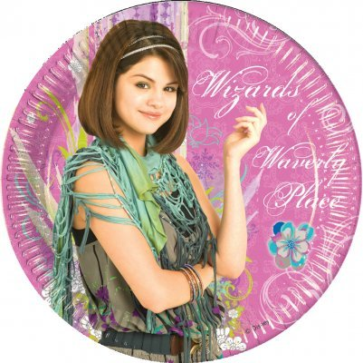 Le magicien assiettes du de waverly place \\