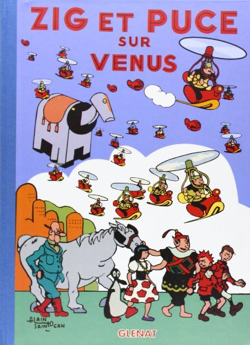 Zig et Puce, tome 17 : Zig et Puce sur Vénus