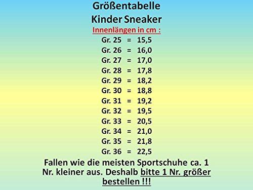 GIBRA® Enfants Chaussures de sport, avec fermeture velcro, noir/rose, Taille 25–36 Noir - Schwarz/Pink