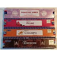 Satya Nag Champa Räucherstäbchen sticks-positive Vibes, Supreme, Champa, mit-Souvenir (se19) von Sterling Effectz preisvergleich bei billige-tabletten.eu