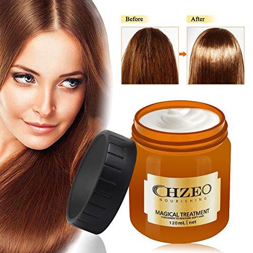 Repair Haarmaske, Haarkur für intensive Haarpflege - Feuchtigkeitsspender für alle Haartypen, Hair...