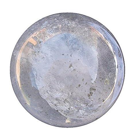 Roche à quartz Boule de cristal débutants Divinatoire Fortune Globe Sphère 67mm 420g Cb18