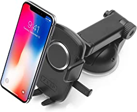 ZAAP(USA) Quick Touch One Pro Dashboard & Windshield Car Mount Holder 360°Adjustable for All Smartphones (2018, Black)