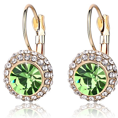 Austrian Crystal Made with Swarovski Elements earrings/stud/drop For Women