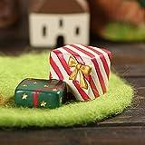 TAOtTAO Niedlicher Weihnachtsmann Bow Bell Weihnachtsbaum Ornament Dekoration hölzerne Schneemann Elch (I)