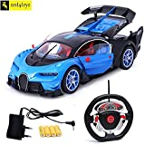 Zest 4 toyz Bugatti Style Steering Remote Control Car with Openable Doors and Rechargable Batteries. (Assorted)