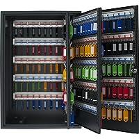 Pavo 8047239 Caja para Llaves de Alta Seguridad (Capacidad para hasta 300 Unidades) Gris