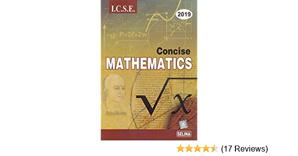 amazon in buy selina icse concise mathematics for class 10 2018 19