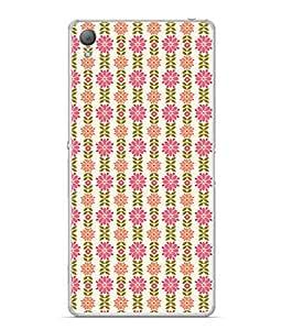 PrintVisa Designer Back Case Cover for Sony Xperia M4 Aqua :: Sony Xperia M4 Aqua Dual (Designed well Straight lined)