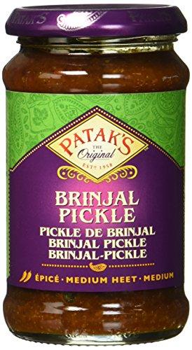 Patak\'s Brinjal Pickle, 6er Pack (6 x 312 g)