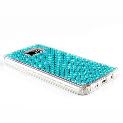 Cuitan Premium Quality TPU Doux Housse Case pour Apple iPhone 6 plus / 6s plus(5.5 Inch), Mode Givré Diamant Shiny Bling Slim Protecteur Etui Case Coque Case Cover Housse pour iPhone 6 plus / 6s plus( Bleu