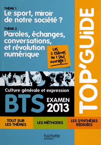 Top Guide Programme mobile 2013 BTS