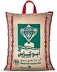 Abu Kass Basmati Rice, 10Kg - Pack of 1
