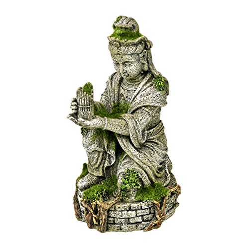 Blue Ribbon Alte Buddha-Statue mit Moos