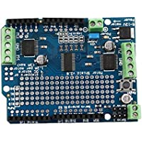 ningbao951 Lightweight Durable Blue Motor/Stepper/Servo/Robot Shield For Arduino v2 with PWM Driver Shield 68 x 52 x 20mm
