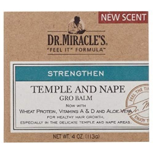 Dr. Miracle's Strengthen Temple and Nape Gro Balm Super 118ml - Nape Gro Balm